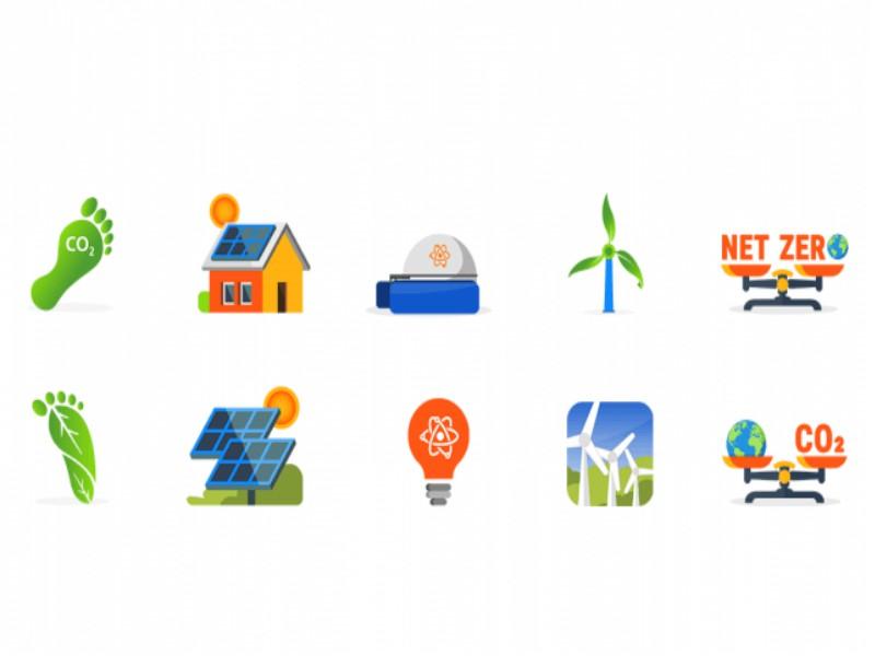 edf net-zero emojis