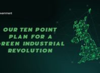 UK unveils 'green industrial revolution' strategy