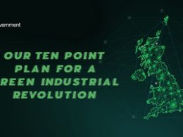 UK unveils 'green industrial revolution' strategy