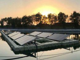 Enel floating solar