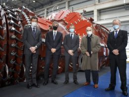 Ansaldo-Energia-unveils-Italy's-biggest-ever-gas-turbine