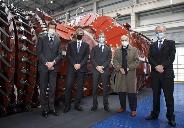 Ansaldo-Energia-unveils-Italy's-biggest-ever-gas-turbine