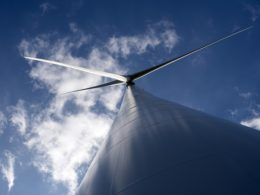 GE Renewable Energy 3MW wind turbine