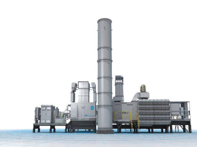GE gas turbines