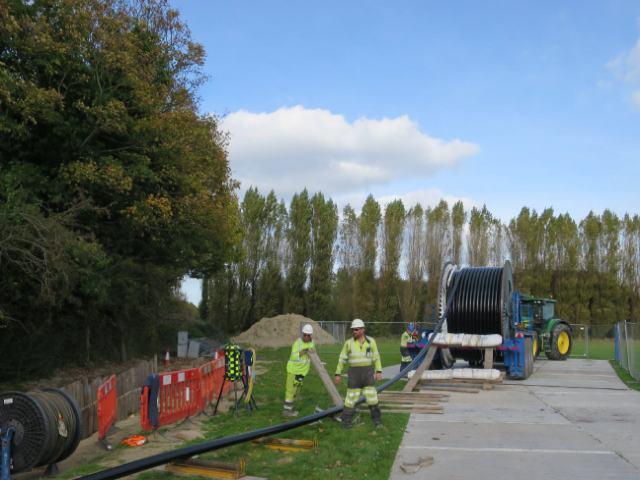 Sumitomo cable installation