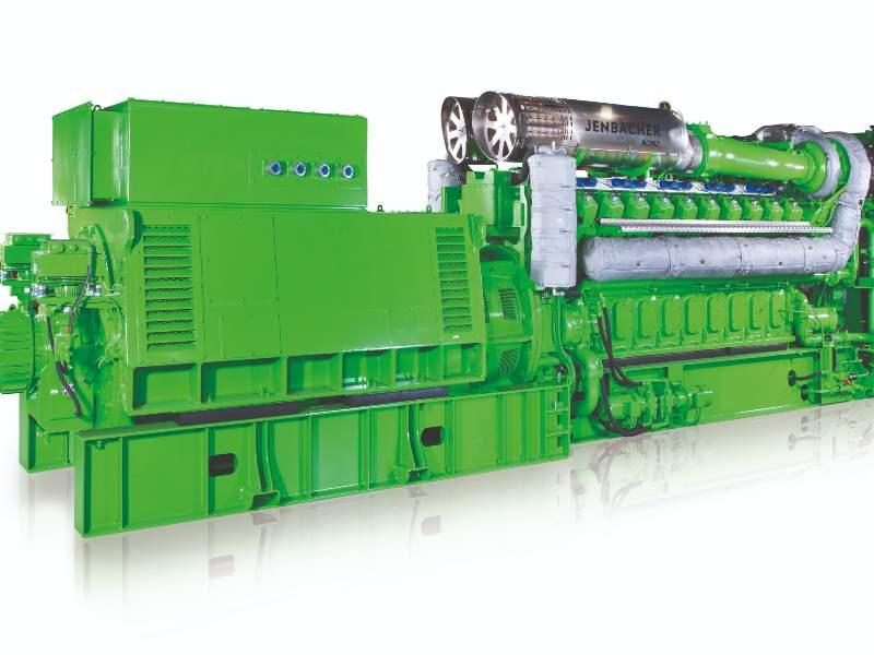 J620 gas engine