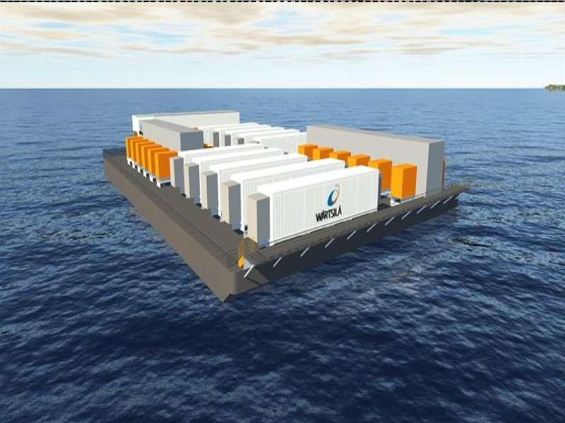 floating energy storage