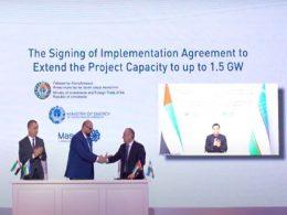 Masdar signing MoU for Uzbekistan wind power expansion