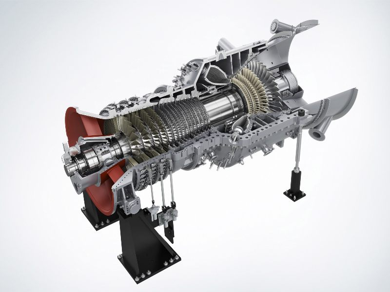 SGT5-4000F gas turbine