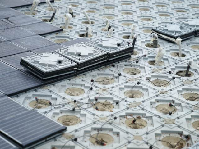 Solar paving
