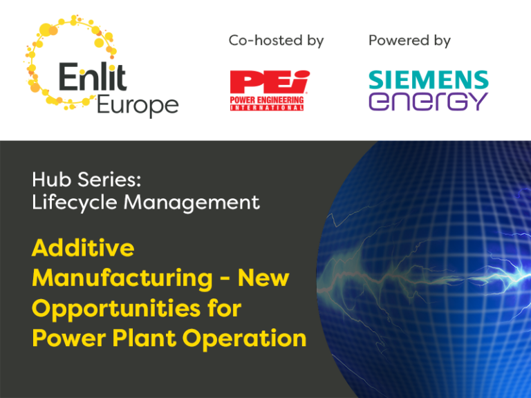"""Webcast Recording: Additive Manufacturing """"new opportunities for power plant operation"""