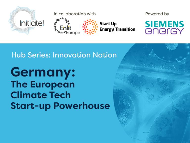 Webcast   Germany: The European Climate Tech Start-up Powerhouse