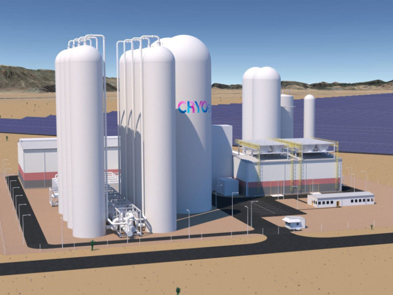 Chile receives its first cryogenic energy storage facility