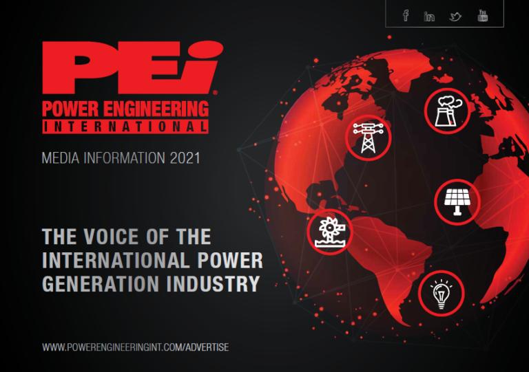 Download the Power Engineering International 2021 media information!