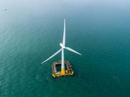 BW Ideol floating wind turbines