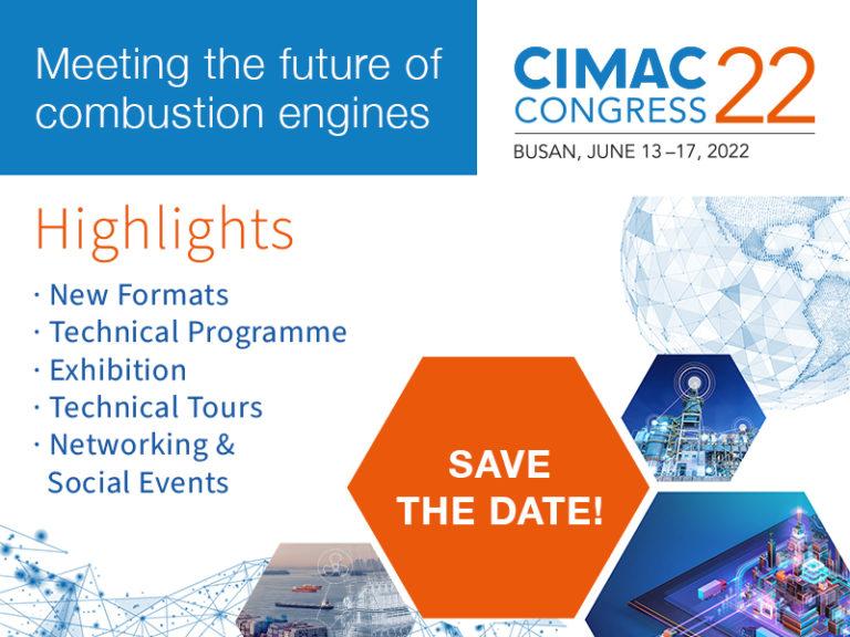 About CIMAC World Congress 2022