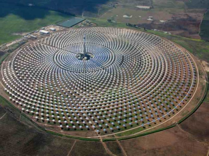 Concentrated solar energy