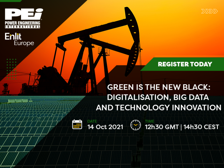 Webcast 14 Oct: Green is the new Black | Digitalisation, big data and technology innovation