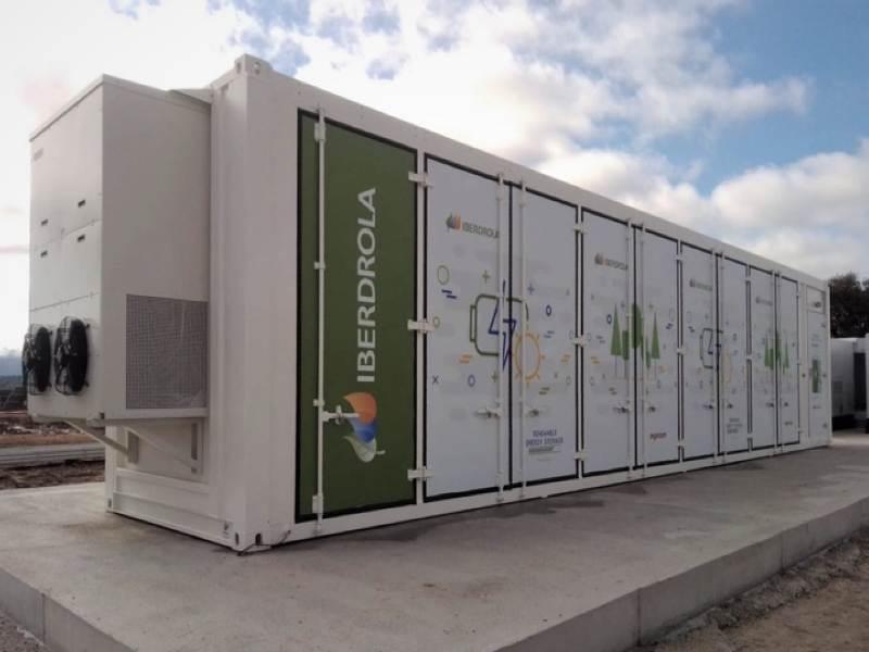 Iberdrola energy storage