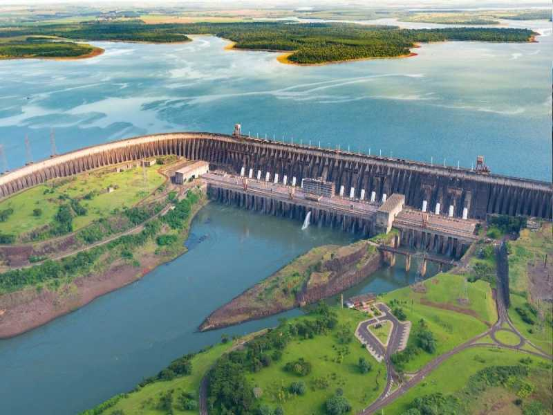 Paraguay hydropower and energy mix