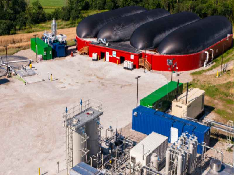 Vanguard's renewable natural gas plant in Salisbury