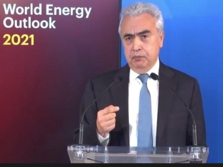Governments' net-zero pledges 'far from satisfactory' says IEA director Birol