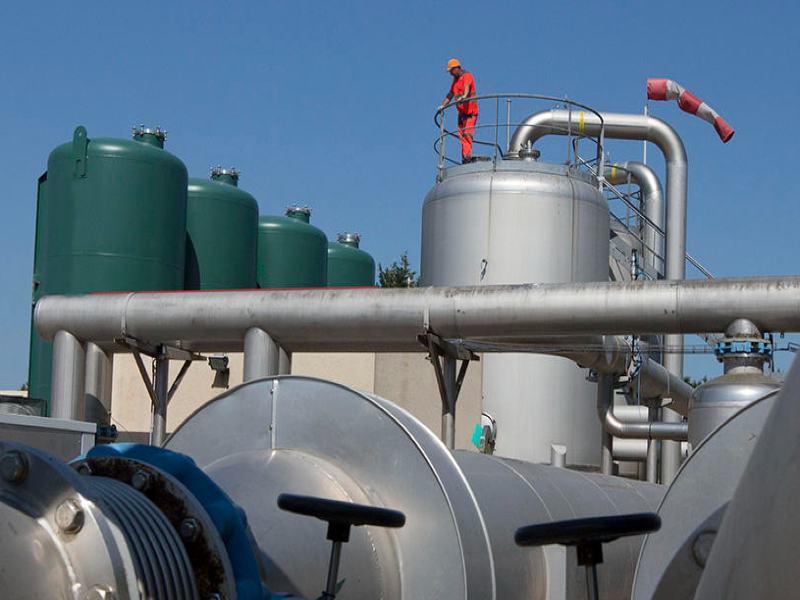 Veolia biogas